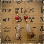 earings WOODOO for YOU
